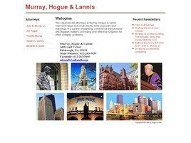Murray, Hogue & Lannis ( Pittsburgh,  PA )