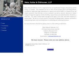 Naka, Huttar & Oldhouser, LLP (Baltimore,  MD)