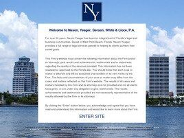 Nason, Yeager, Gerson, White & Lioce, P.A. (City Of Sunrise,  FL)