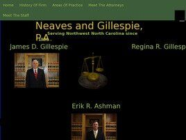 NEAVES & GILLESPIE, P.A. (Surry Co.,   NC )
