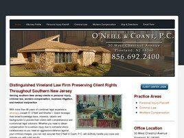 O'Neill & Coant, P.C. (Vineland, New Jersey)