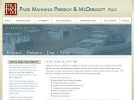 Page, Mannino, Peresich & McDermott, P.L.L.C. (Biloxi, Mississippi)