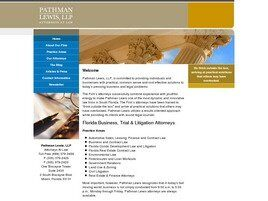 Pathman Lewis, LLP (City Of Sunrise,  FL)