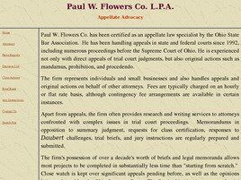 Paul W. Flowers Co., L.P.A. (Cuyahoga Co.,   OH )
