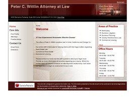 Peter C. Wittlin Attorney at Law ( Irvine,  CA )