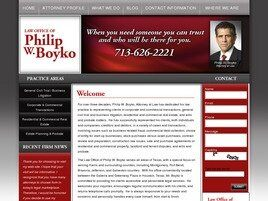 Philip W. Boyko, Attorney at Law ( Houston,  TX )