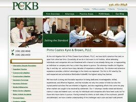 Pinto Coates Kyre & Bowers, PLLC (Greensboro,  NC)