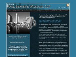 Pope, Berger & Williams, LLP (San Diego,  CA)