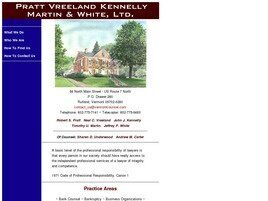 Pratt Vreeland Kennelly Martin & White Ltd. (Rutland, Vermont)