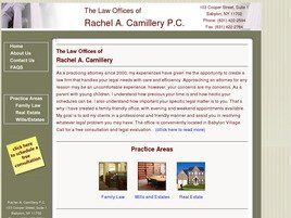 Rachel A. Camillery, Esq. (Suffolk Co.,   NY )