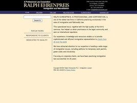 Ralph Ehrenpreis A Professional Law Corporation ( Los Angeles,  CA )