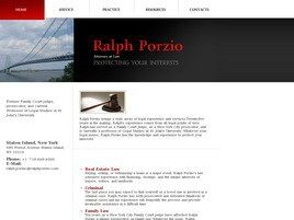 Ralph Porzio, Attorney at Law (Staten Island, New York)