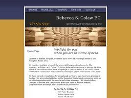Rebecca S. Colaw, P.C. (Suffolk, Virginia)