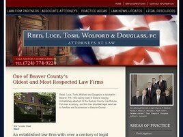 Reed, Tosh, Wolford & Douglass, PC Attorneys at Law (Beaver,  PA)