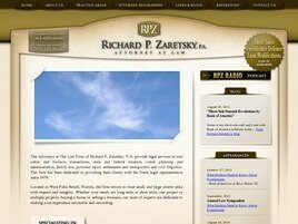 Richard P. Zaretsky, P.A. Attorney at Law (Palm Beach Co.,   FL )