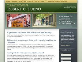 The Law Offices of Robert C. Dubno (Brooklyn,  NY)