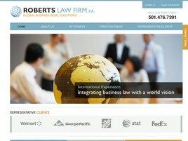 Roberts Law Firm, P.A. (Faulkner Co.,   AR )