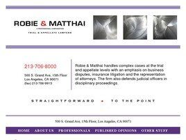 Robie & Matthai A Professional Corporation (Los Angeles,  CA)