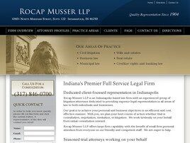 Rocap Law Firm LLC (Indianapolis,  IN)