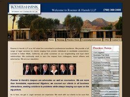 Roemer & Harnik LLP ( Indian Wells,  CA )