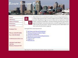 Rosen Hoover P.A. ( Baltimore,  MD )