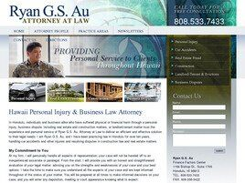 Ryan G. S. Au, Attorney at Law (Honolulu,  HI)