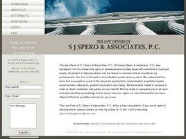 The Law Offices of S. J. Spero and Associates, P.C. ( Newton,  MA )