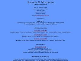 Salmon and Nostrand ( Bellows Falls,  VT )