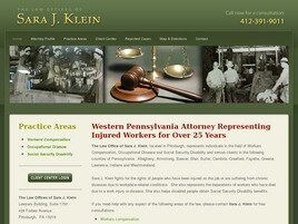 The Law Offices of Sara J. Klein (Butler,  PA)