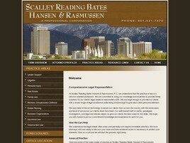 Scalley Reading Bates Hansen & Rasmussen, P.C. (Salt Lake Co.,   UT )