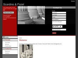 The Law Offices of Scardino & Fazel ( Houston,  TX )