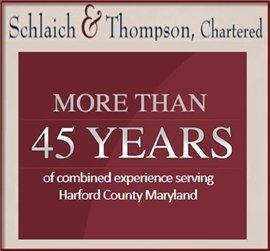 Schlaich & Thompson Chartered ( Bel Air,  MD )