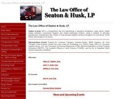 The Law Office of Seaton & Husk, L.P. ( Vienna,  VA )