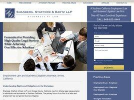 Shanberg, Stafford & Bartz LLP (Orange Co.,   CA )
