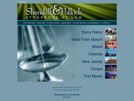 Shendell & Pollock, P.L. Attorneys at Law (Palm Beach Co.,   FL )