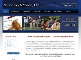 Simonson & Cohen, LLP (Staten Island, New York)