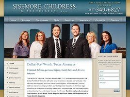Sisemore Law Firm ( Fort Worth,  TX )