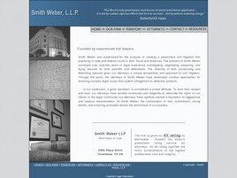 Smith Weber, L.L.P. ( Marshall,  TX )