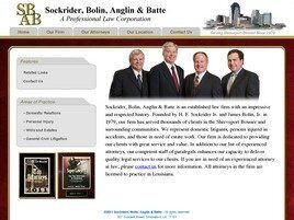 Sockrider, Bolin, Anglin & Batte A Professional Law Corporation ( Bossier City,  LA )