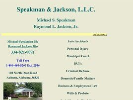 Speakman & Jackson, L.L.C. (Phenix City,  AL)