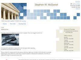 Stephen W. McDaniel (Longview, Texas)