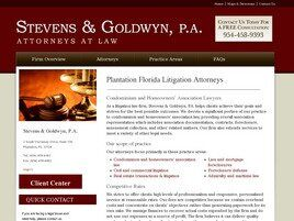 Stevens & Goldwyn, P.A. (City Of Sunrise,  FL)