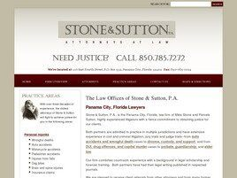 Stone & Sutton, P.A.(Panama City, Florida)