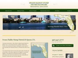 Swann Hadley Stump Dietrich & Spears, P.A. (Orange Co.,   FL )