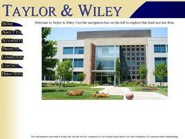 Taylor & Wiley A Professional Corporation ( Sacramento,  CA )