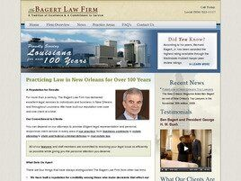 The Bagert Law Firm (New Orleans,  LA)
