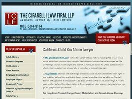 The Cifarelli Law Firm LLP (Orange Co.,   CA )