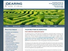The Dearing Law Firm P.A. (Jacksonville,  FL)