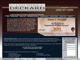 The Deckard Law Firm ( San Jose,  CA )