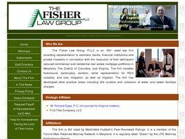 The Fisher Law Group, PLLC (Upper Marlboro,  MD)